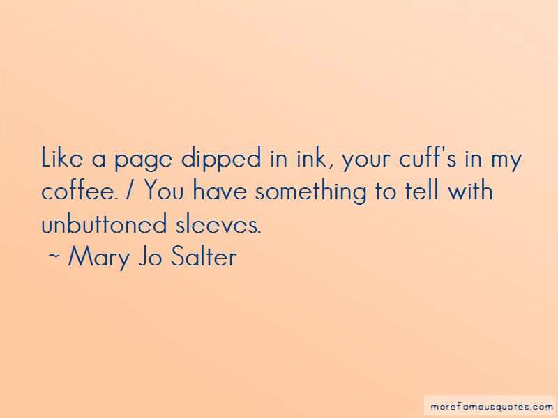 Mary Jo Salter Quotes Pictures 3