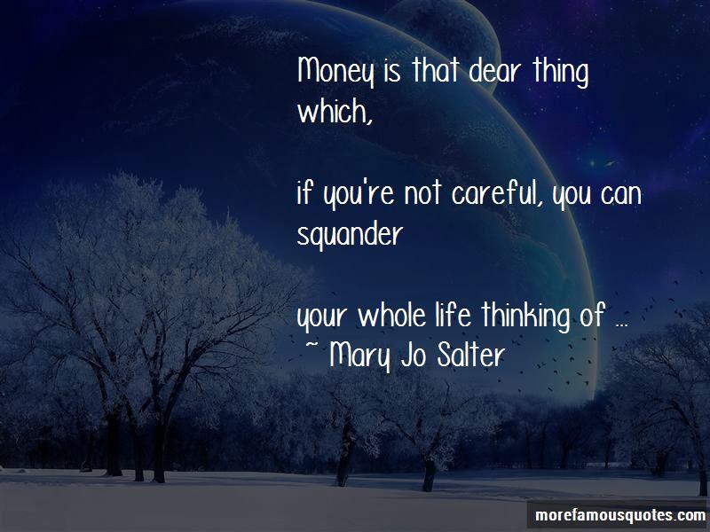 Mary Jo Salter Quotes