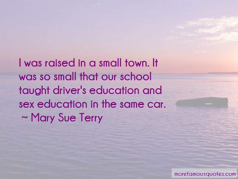 Mary Sue Terry Quotes