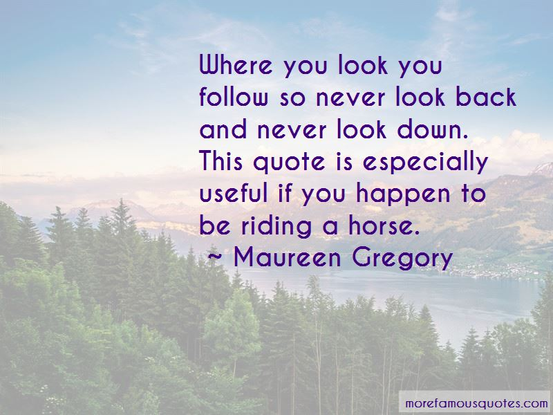Maureen Gregory Quotes Pictures 2