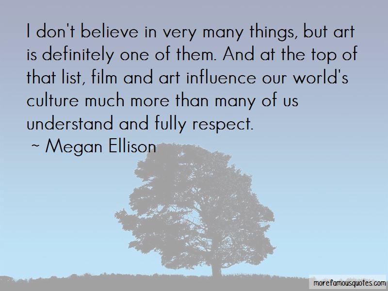 Megan Ellison Quotes Pictures 2