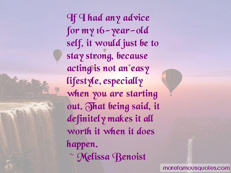 Melissa Benoist Quotes Pictures 2