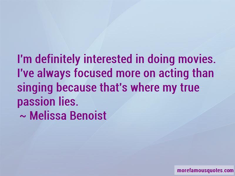 Melissa Benoist Quotes Pictures 4