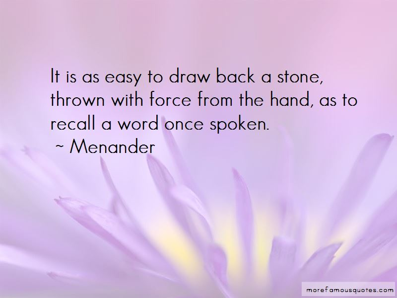 Menander Quotes Pictures 3
