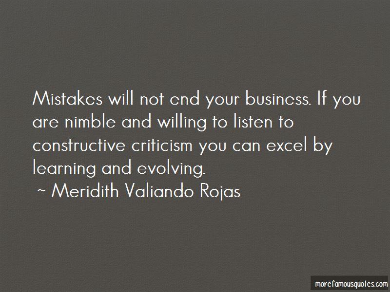 Meridith Valiando Rojas Quotes