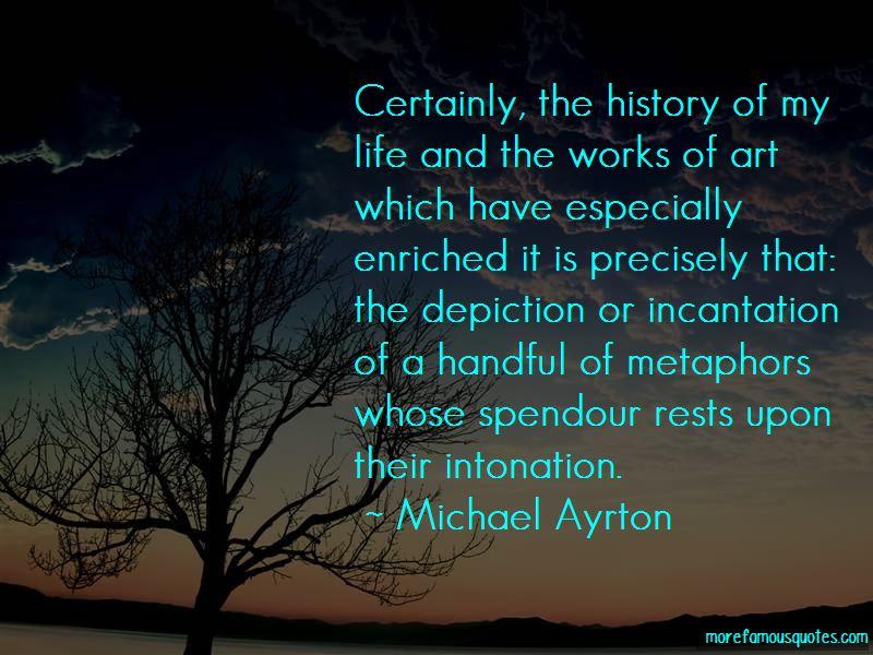 Michael Ayrton Quotes