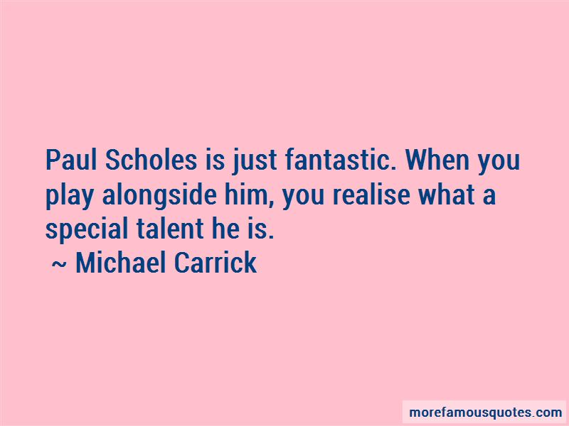 Michael Carrick Quotes Pictures 3