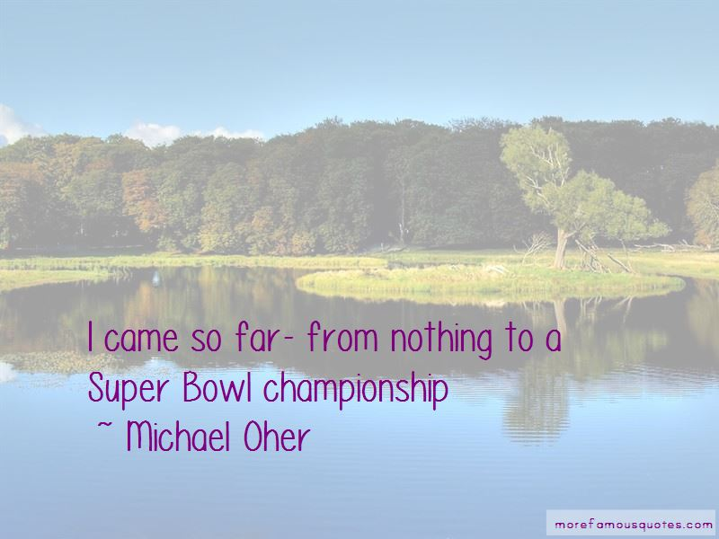 Michael Oher Quotes Pictures 2