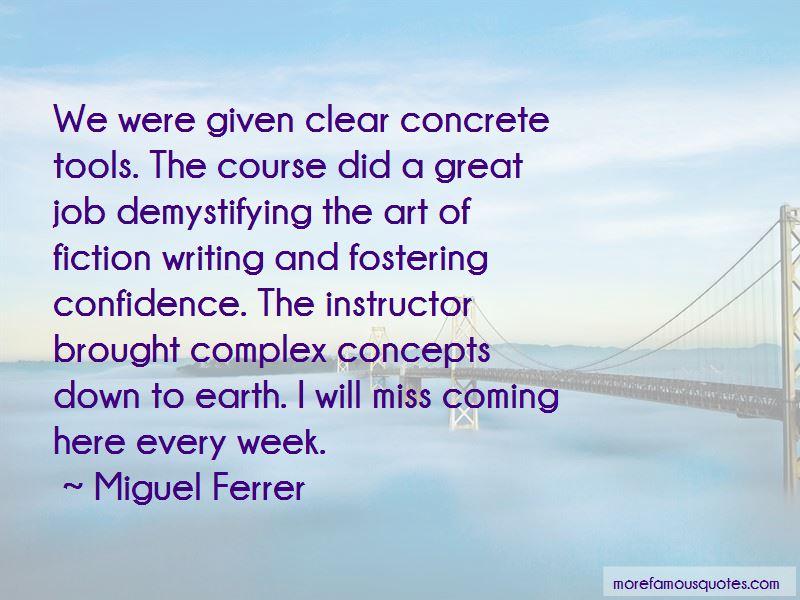 Miguel Ferrer Quotes