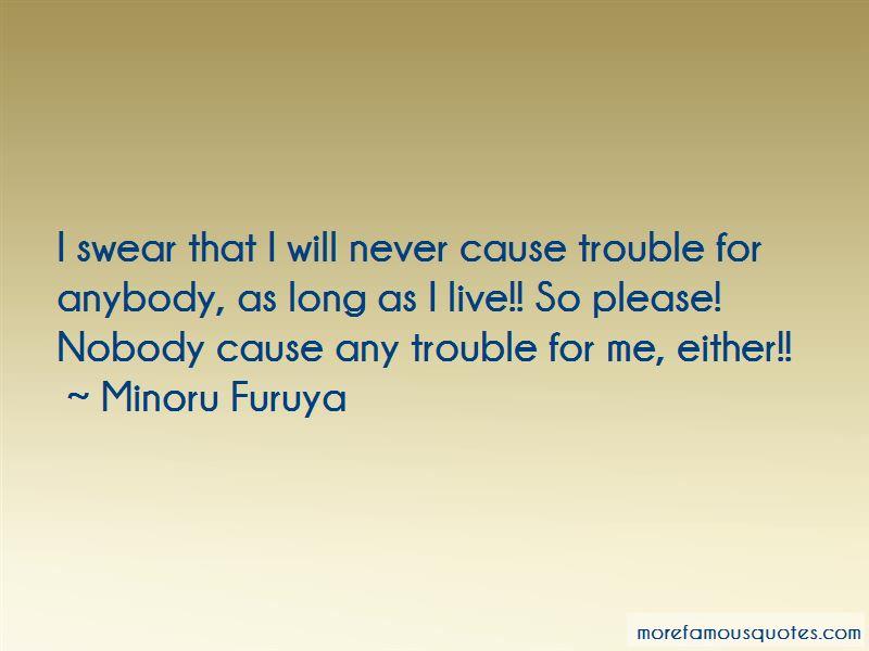 Minoru Furuya Quotes