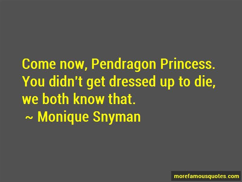 Monique Snyman Quotes Pictures 4