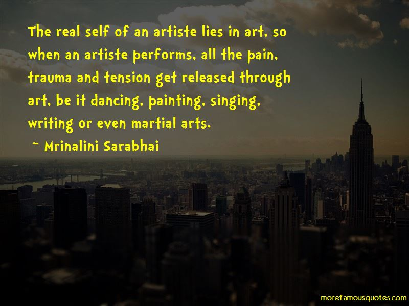 Mrinalini Sarabhai Quotes