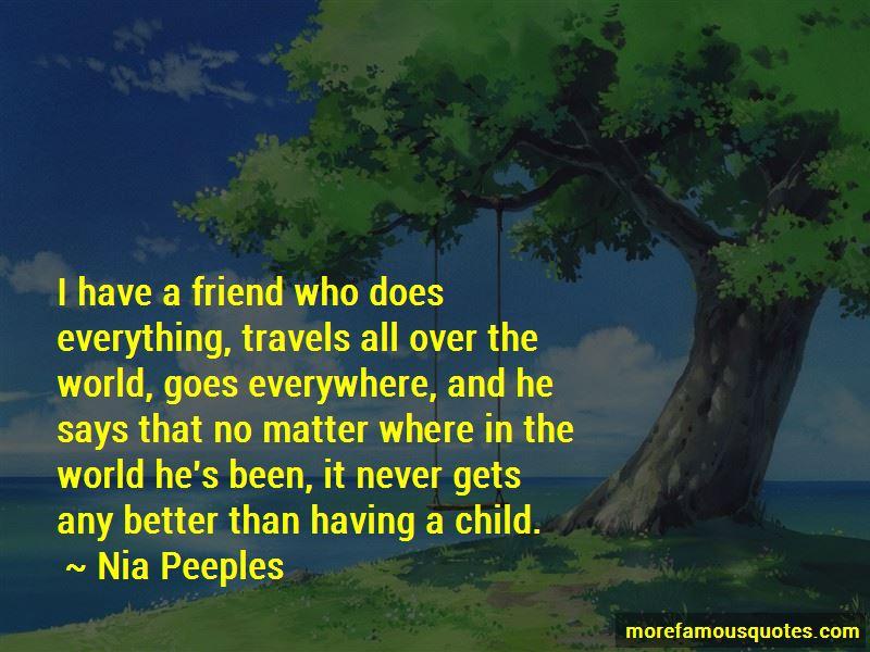 Nia Peeples Quotes