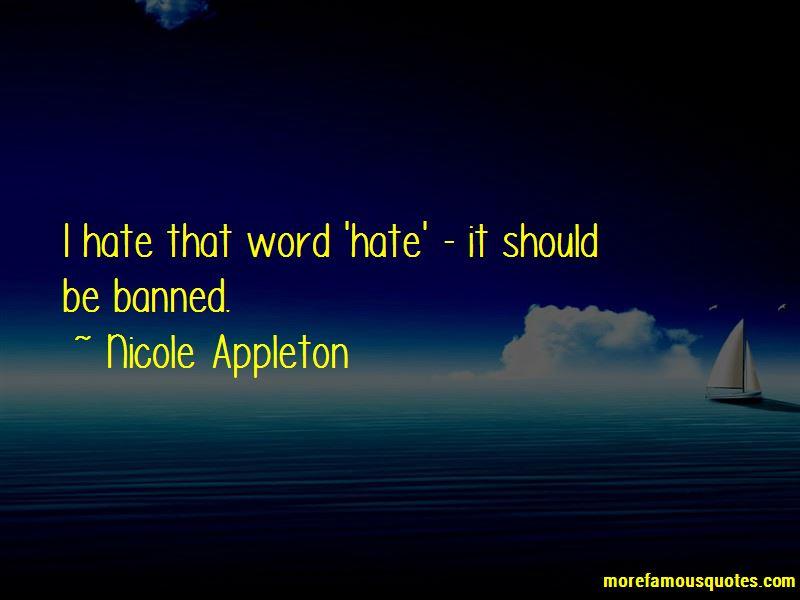 Nicole Appleton Quotes Pictures 4