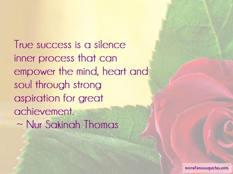 Nur Sakinah Thomas Quotes