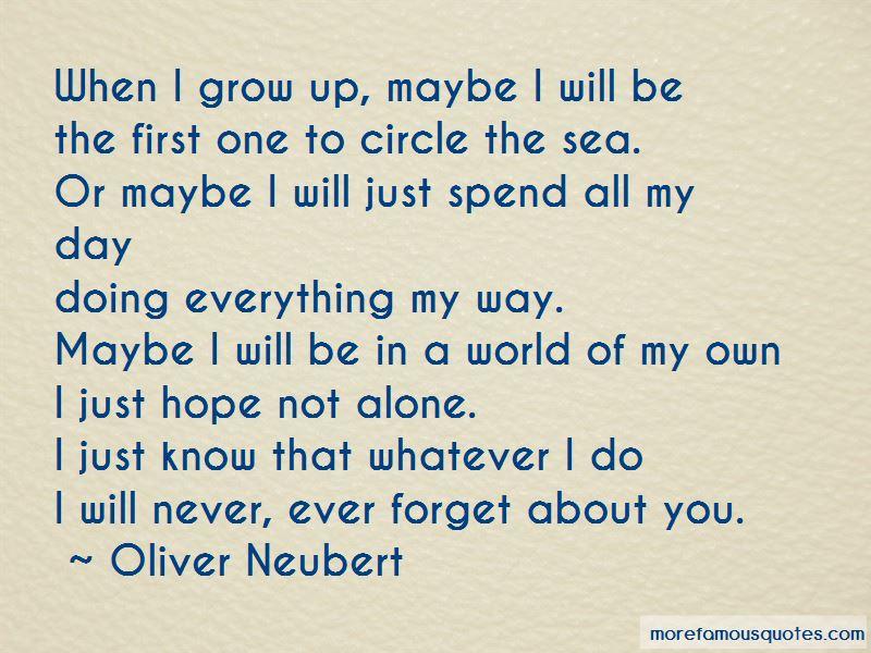 Oliver Neubert Quotes