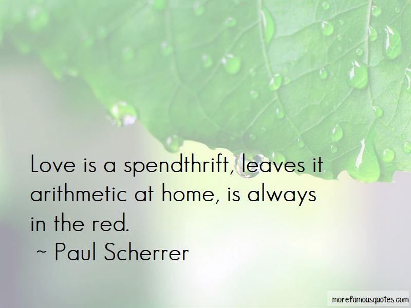 Paul Scherrer Quotes