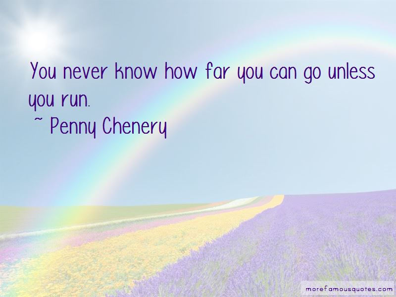 Penny Chenery Quotes