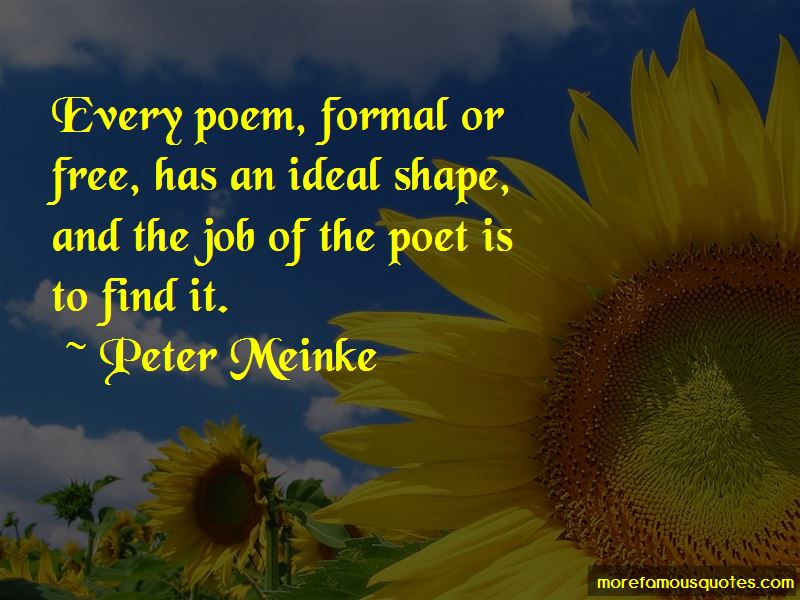Peter Meinke Quotes Pictures 4
