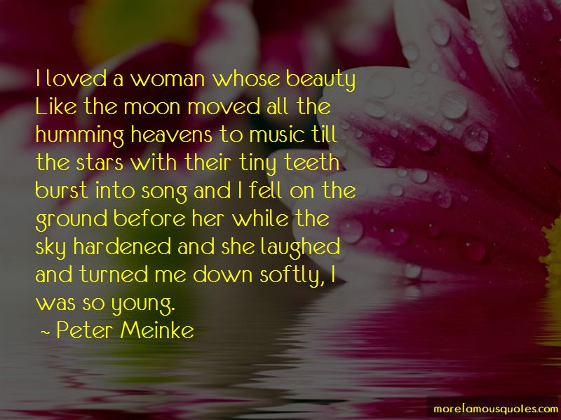 Peter Meinke Quotes