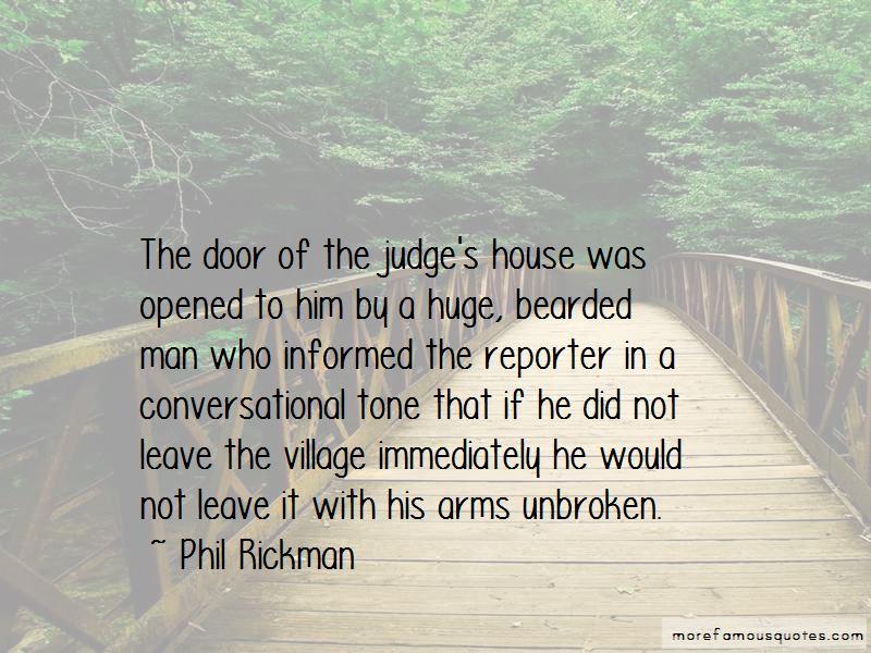 Phil Rickman Quotes