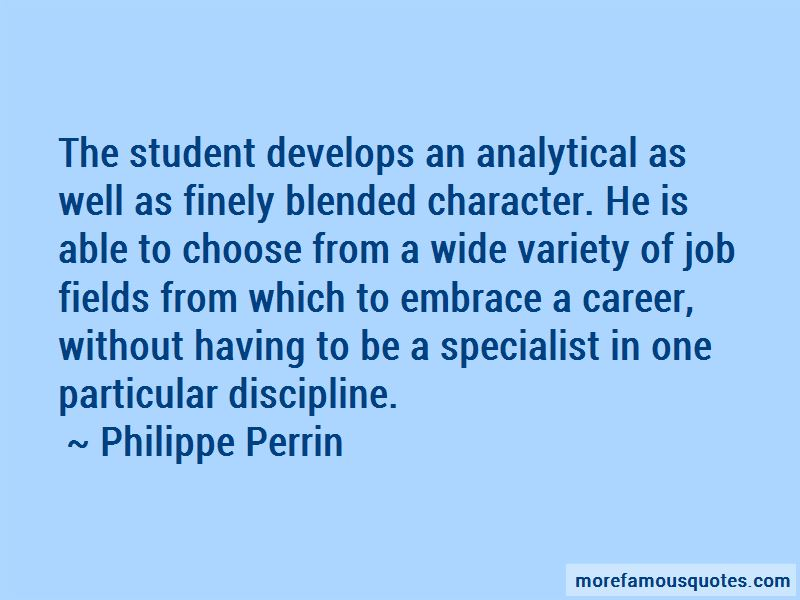 Philippe Perrin Quotes Pictures 2
