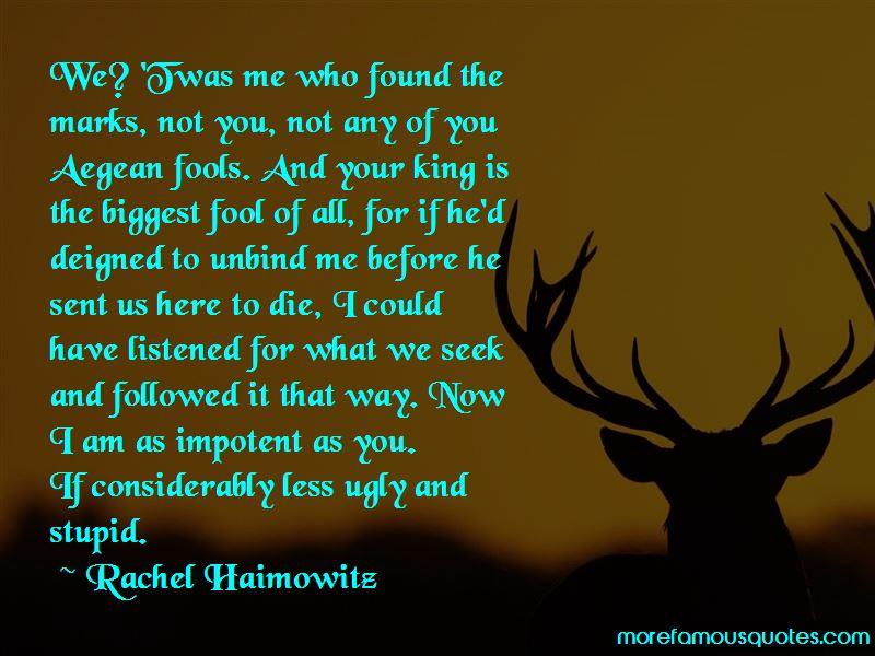 Rachel Haimowitz Quotes Pictures 2