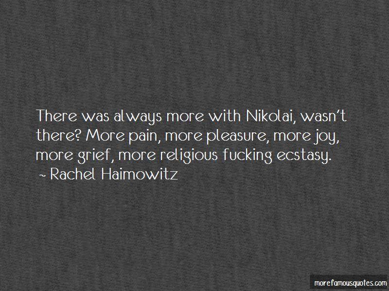 Rachel Haimowitz Quotes Pictures 3