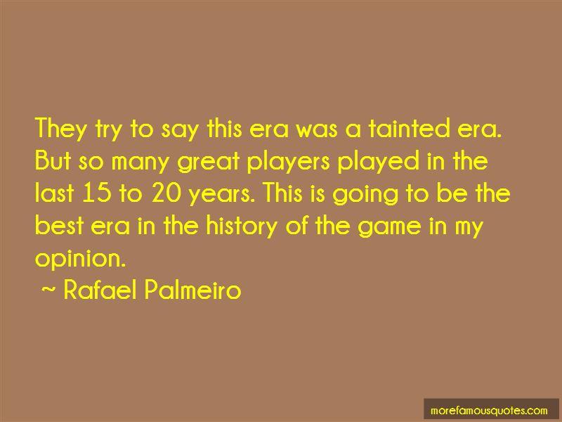 Rafael Palmeiro Quotes Pictures 2