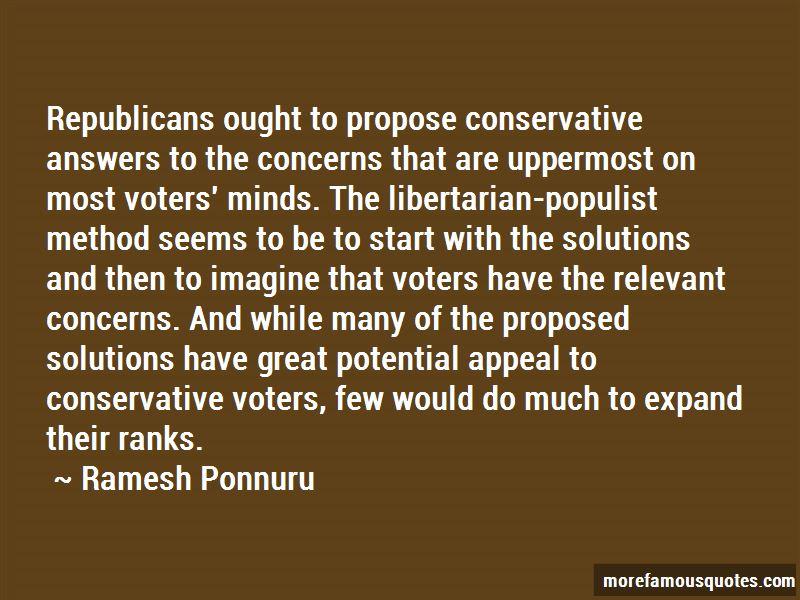 Ramesh Ponnuru Quotes