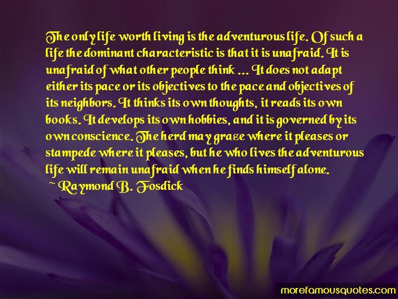 Raymond B. Fosdick Quotes