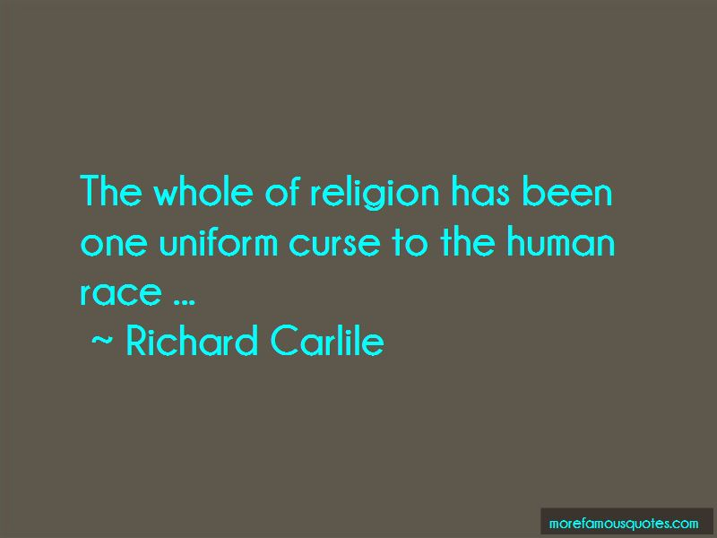 Richard Carlile Quotes