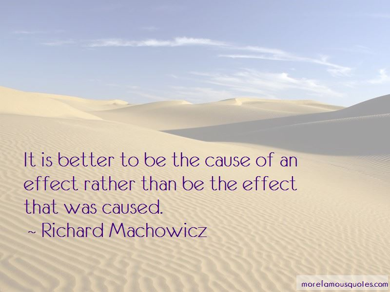 Richard Machowicz Quotes Pictures 2