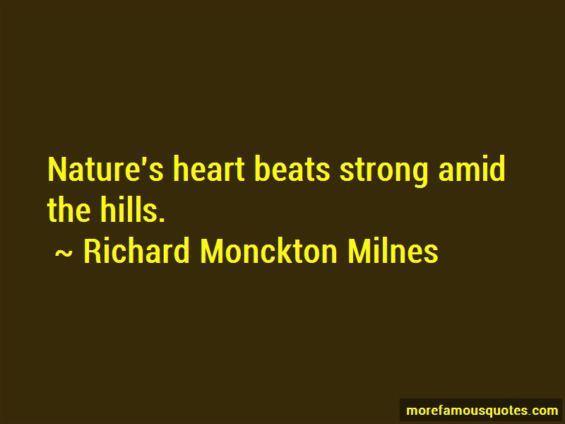 Richard Monckton Milnes Quotes
