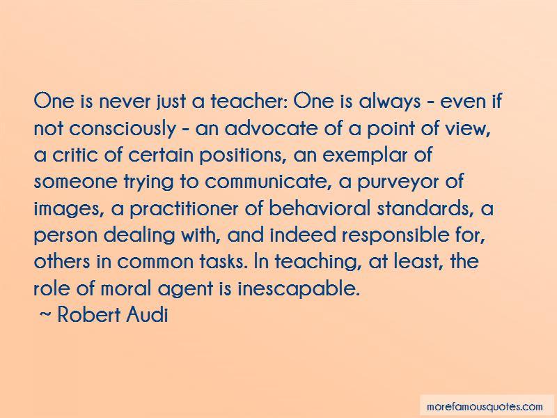 Robert Audi Quotes