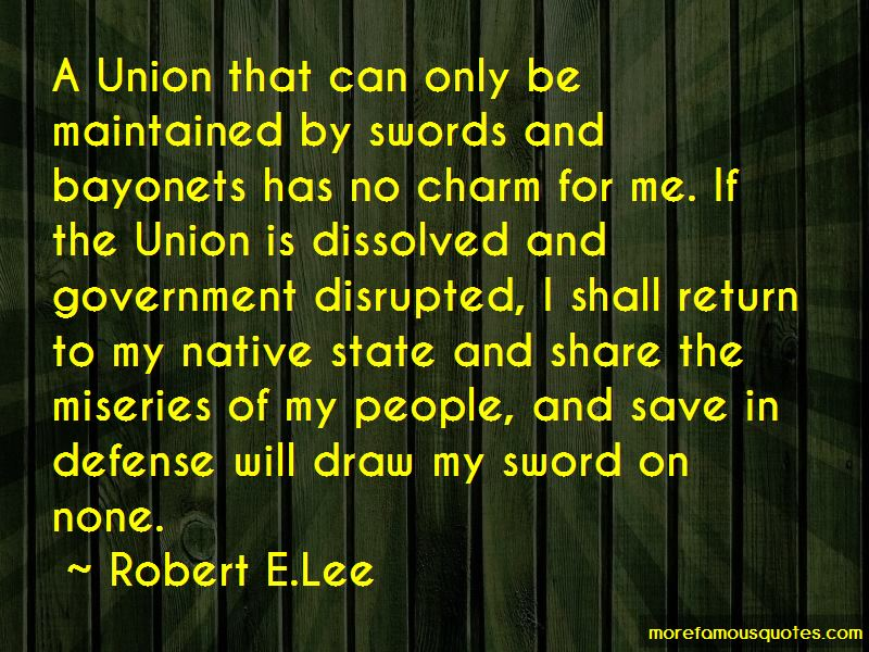 Robert E.Lee Quotes Pictures 4