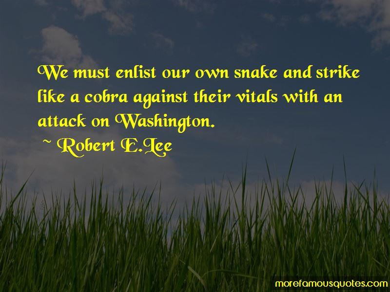 Robert E.Lee Quotes