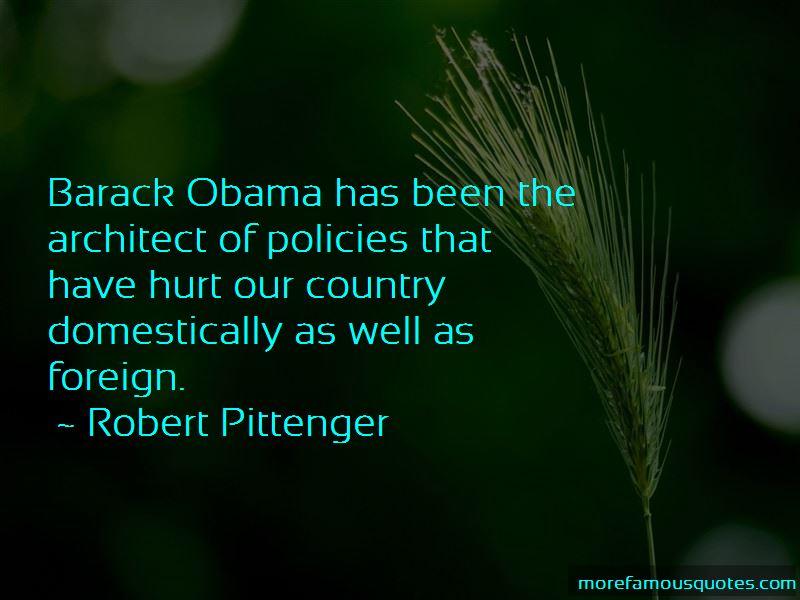 Robert Pittenger Quotes
