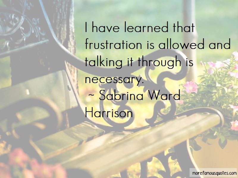 Sabrina Ward Harrison Quotes Pictures 3