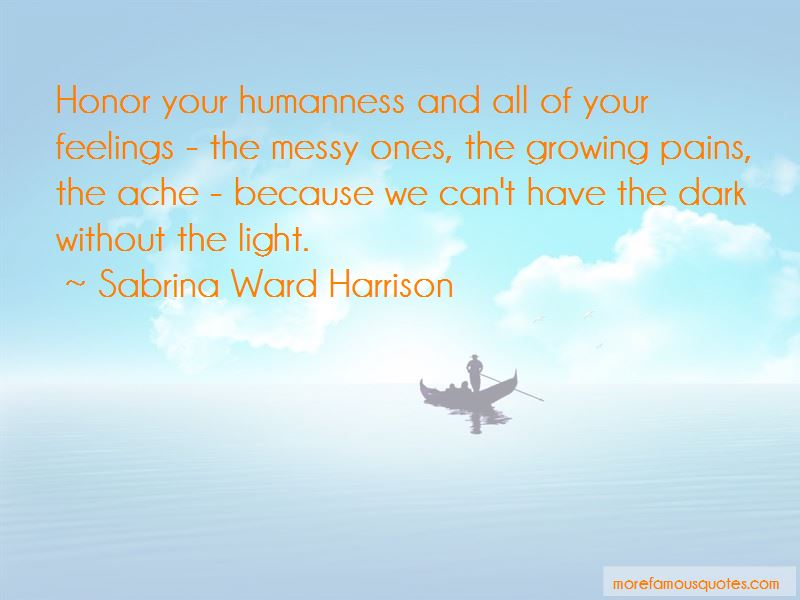Sabrina Ward Harrison Quotes Pictures 4