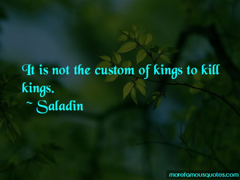 Saladin Quotes