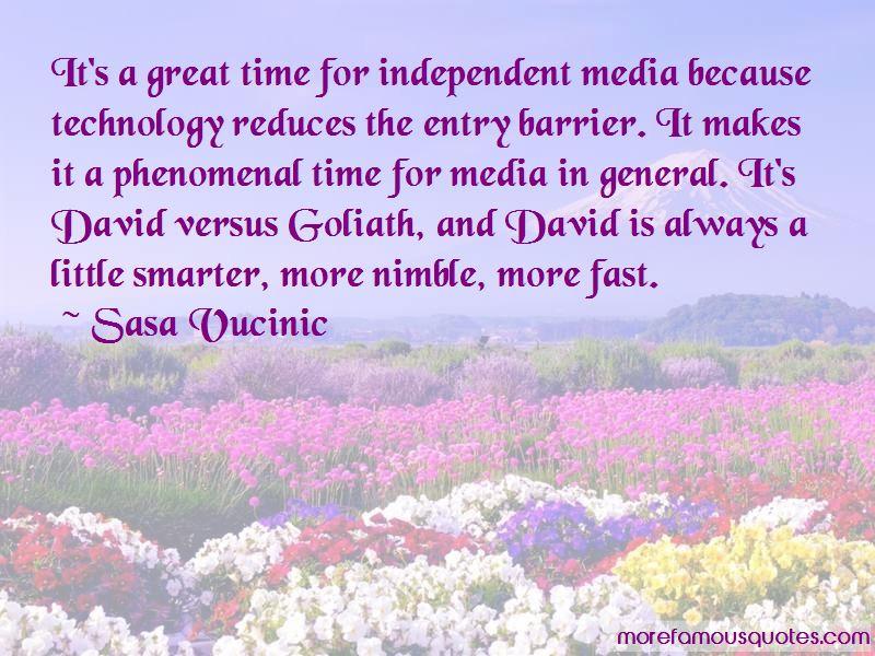 Sasa Vucinic Quotes
