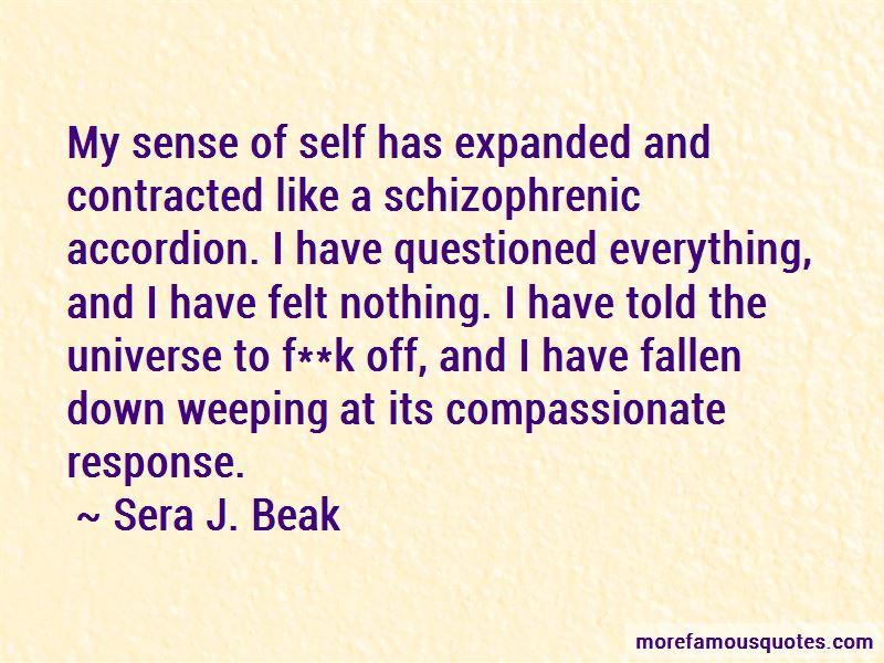 Sera J. Beak Quotes