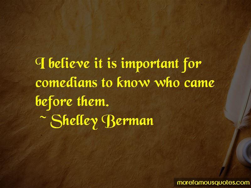Shelley Berman Quotes