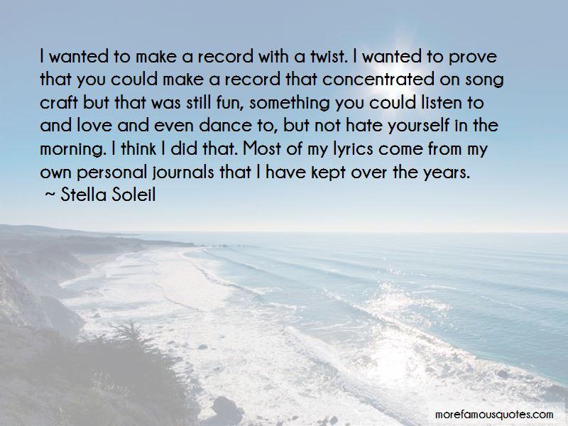 Stella Soleil Quotes Pictures 2