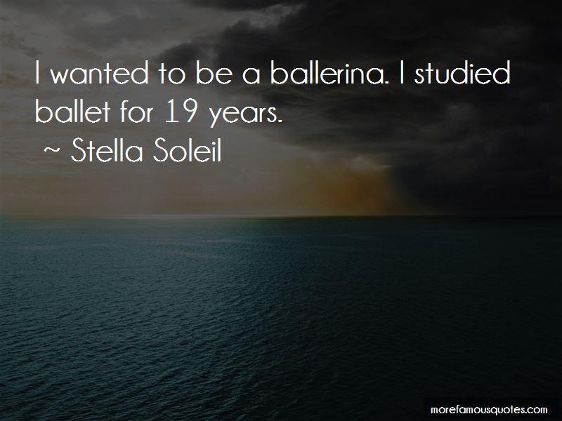 Stella Soleil Quotes Pictures 4