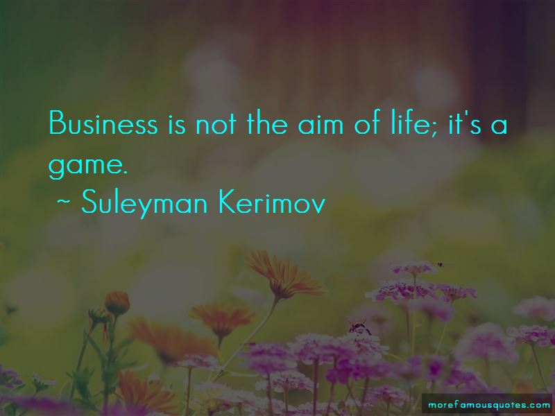 Suleyman Kerimov Quotes Pictures 2