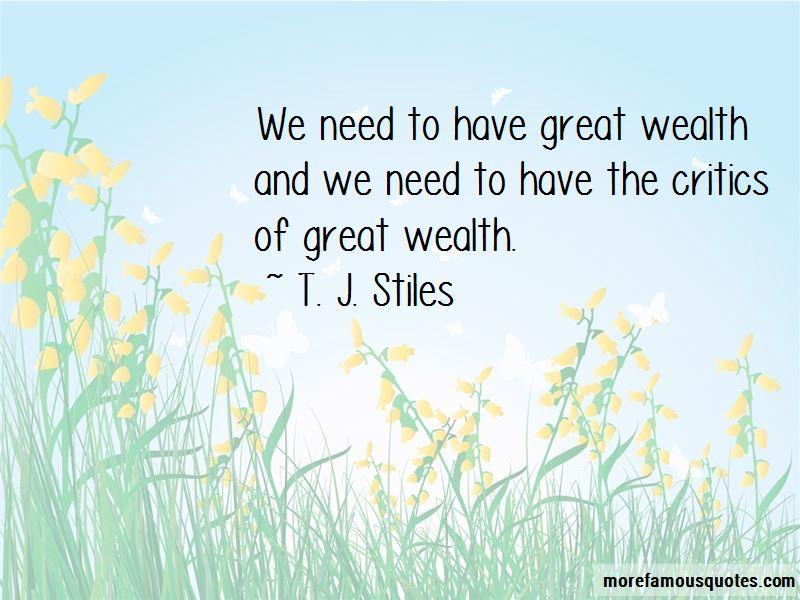T. J. Stiles Quotes Pictures 2