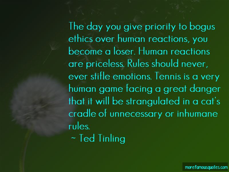 Ted Tinling Quotes