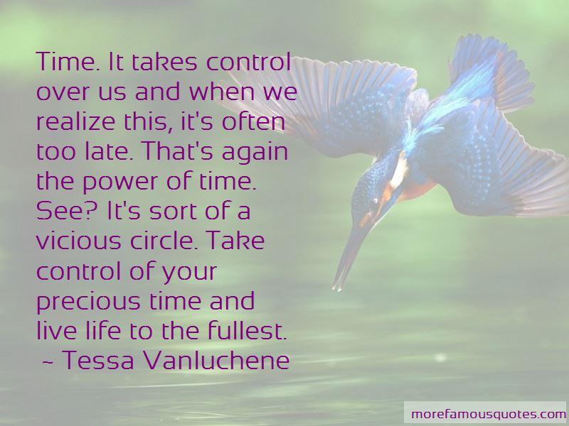 Tessa Vanluchene Quotes